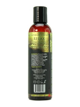 INTIMATE EARTH RELAX AROMATHERAPY MASSAGE OIL