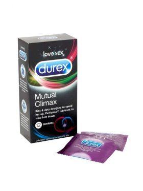 DUREX MUTUAL CLIMAX 12 CONDOMS