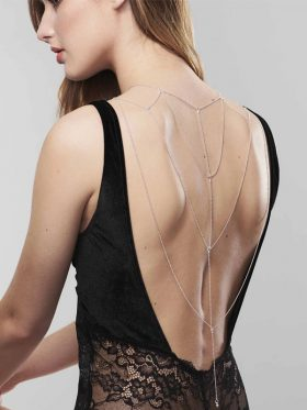 BIJOUX INDISCRETS BACK AND CLEAVAGE CHAIN