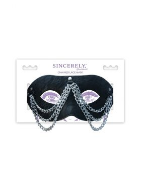 SPORTSHEETS CHAINED LACE MASK