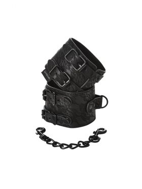 SPORTSHEETS LACE DOUBLE STRAP HANDCUFFS