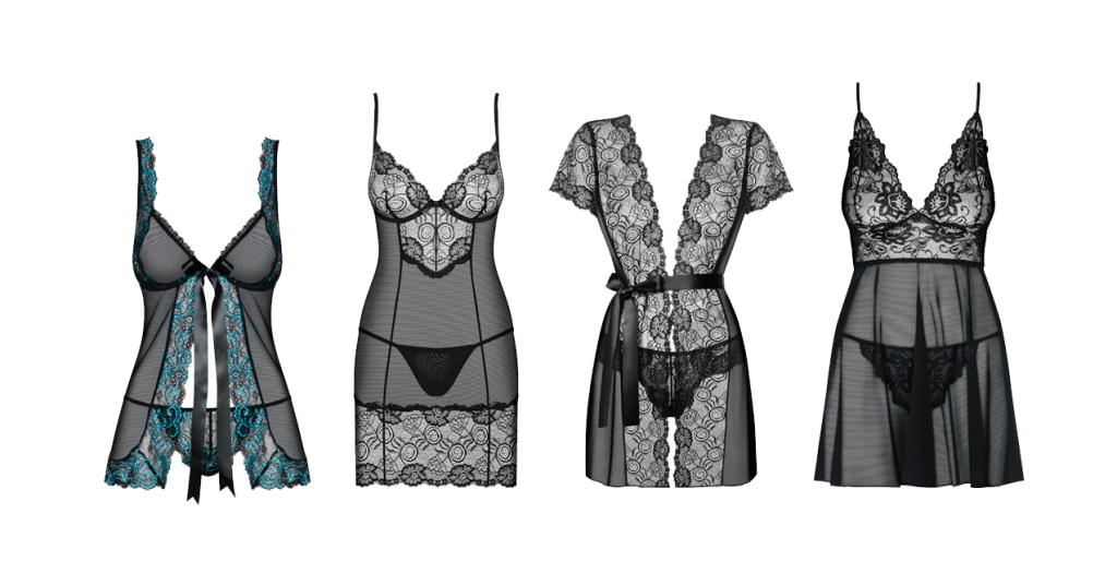 Nightwear lingerie collection