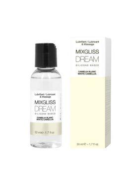 MIXGLISS DREAM SILICONE LUBRICANT WHITE CAMELLIA 50 ML