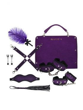 RIANNE S KINKY ME SOFTLY BONDAGE SET WITH STORAGE BAG
