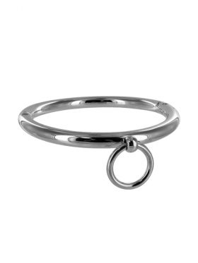 MASTER SERIES ROLLED STAINLESS STEEL COLLAR WITH RING