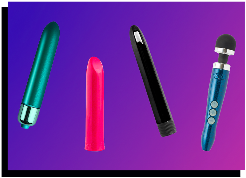 Difference Buzzy Rumbly Vibrators