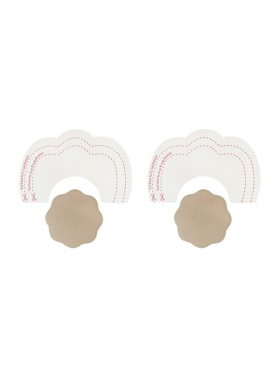 BYE BRA BREAST LIFT TAPE & SILICONE NUDE NIPPLE COVERS