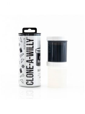 CLONE-A-WILLY JET BLACK SILICONE REFILL
