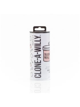 CLONE-A-WILLY LIGHT SKIN TONE SILICONE REFILL