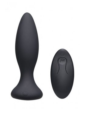 DOC JOHNSON A-PLAY VIBRATING ANAL PLUG WITH REMOTE