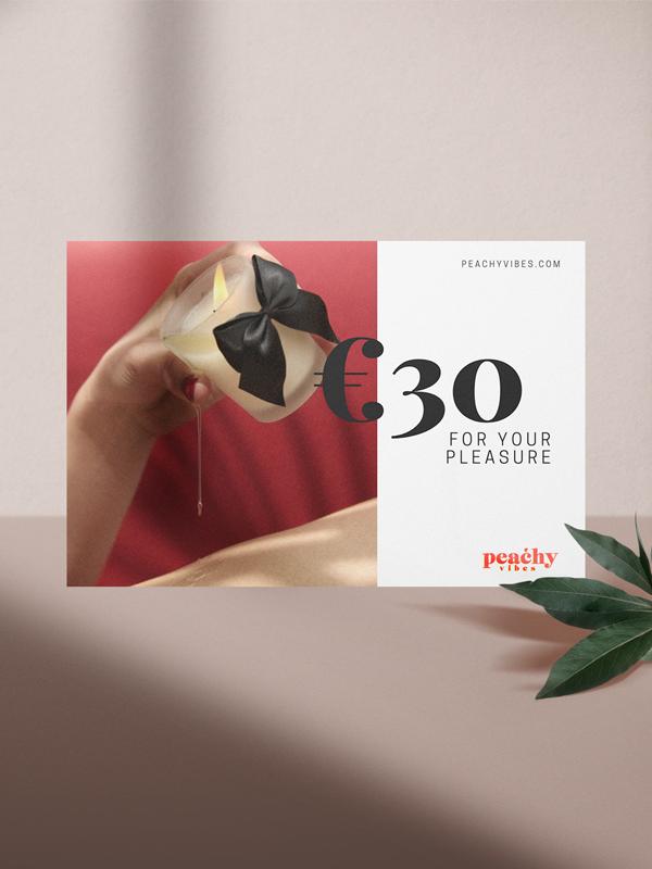 Peachy Vibes Gift Card Setting