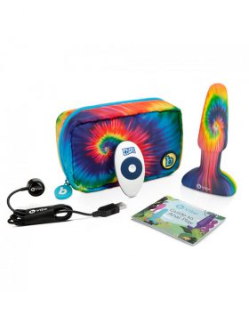 B-VIBE PEACE & LOVE LIMITED EDITION TIE DYE RIMMING PLUG