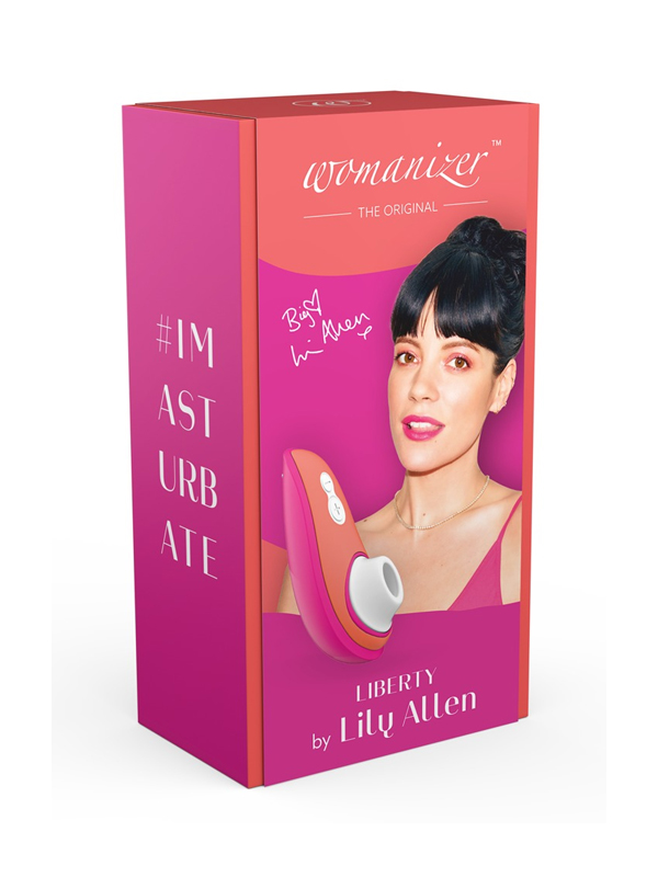 WOMANIZER LIBERTY CLITORAL STIMULATOR BY LILY ALLEN
