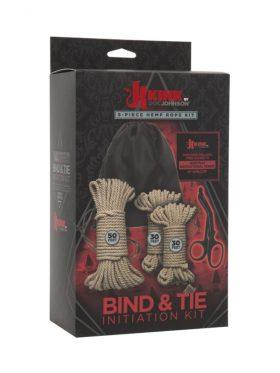 KINK BIND & TIE INITIATION HEMP ROPE KIT