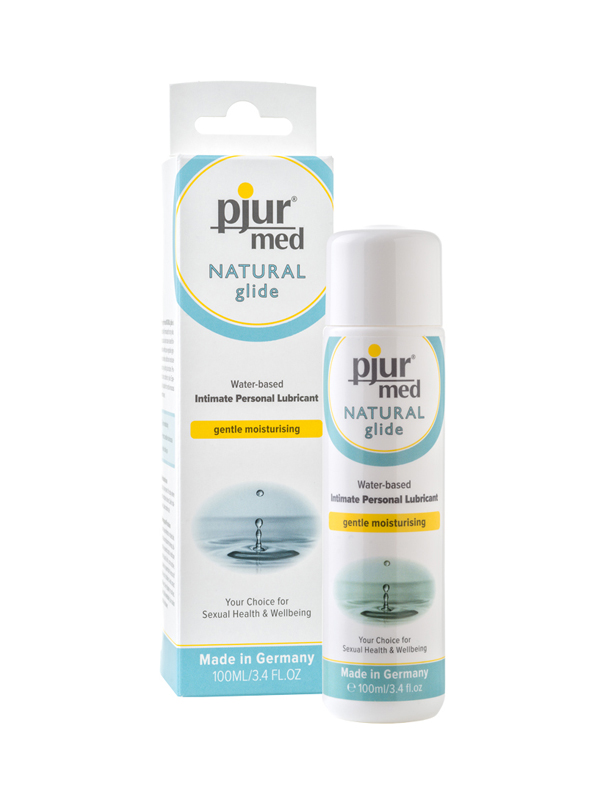 PJUR MED NATURAL GLIDE WATER-BASED PERSONAL LUBRICANT