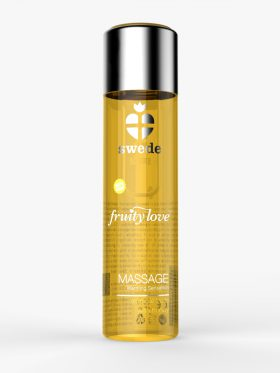 SWEDE FRUITY LOVE WARMING MASSAGE OIL - TROPICAL FRUITS WITH HONEY
