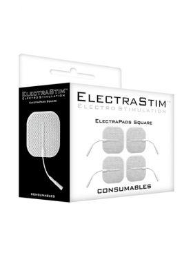 ELECTRASTIM SQUARE SELF ADHESIVE PADS