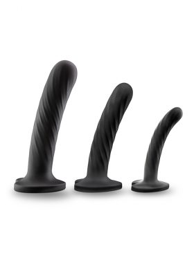 BLUSH TEMPTASIA TWIST THREE SILICONE DILDO KIT