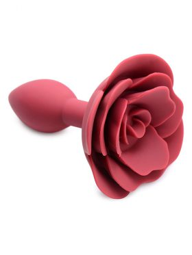 MASTER SERIES BOOTY BLOOM SILICONE ROSE BUTT PLUG