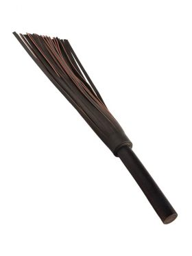LODBROCK BROWN FAUX LEATHER MASTER FLOGGER